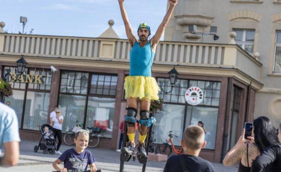 Andrea Mineo street show Boato